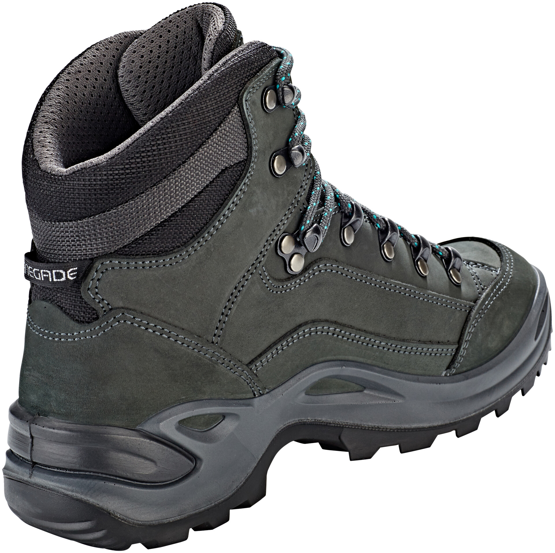 Lowa Gtx WomenAsphaltturquoise Shoes Renegade Mid Kc1TJulF3